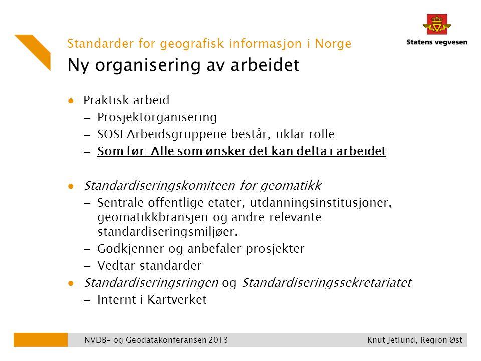 Ny organisering av arbeidet