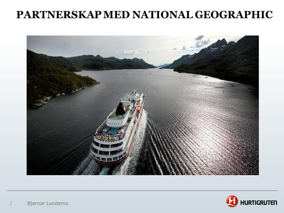 Partnerskap med National Geographic