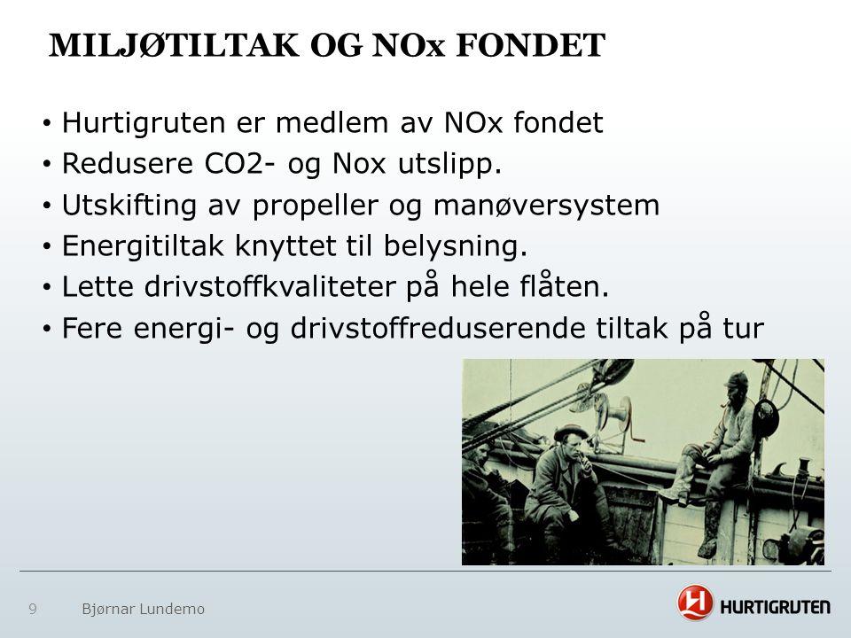 Miljøtiltak og NOx fondet