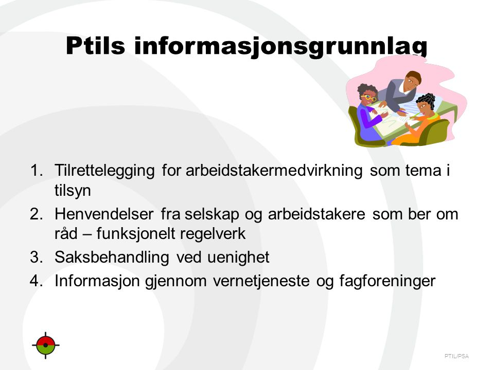 Ptils informasjonsgrunnlag