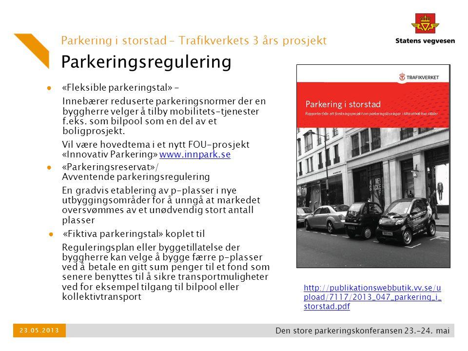 Parkeringsregulering