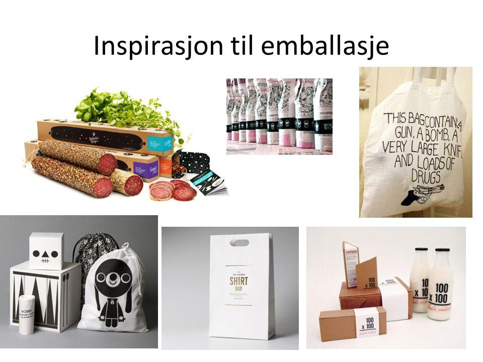 Inspirasjon til emballasje