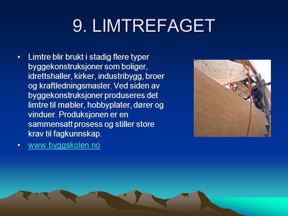 9. LIMTREFAGET
