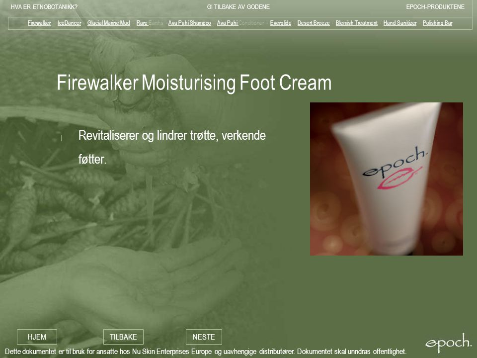 Firewalker Moisturising Foot Cream