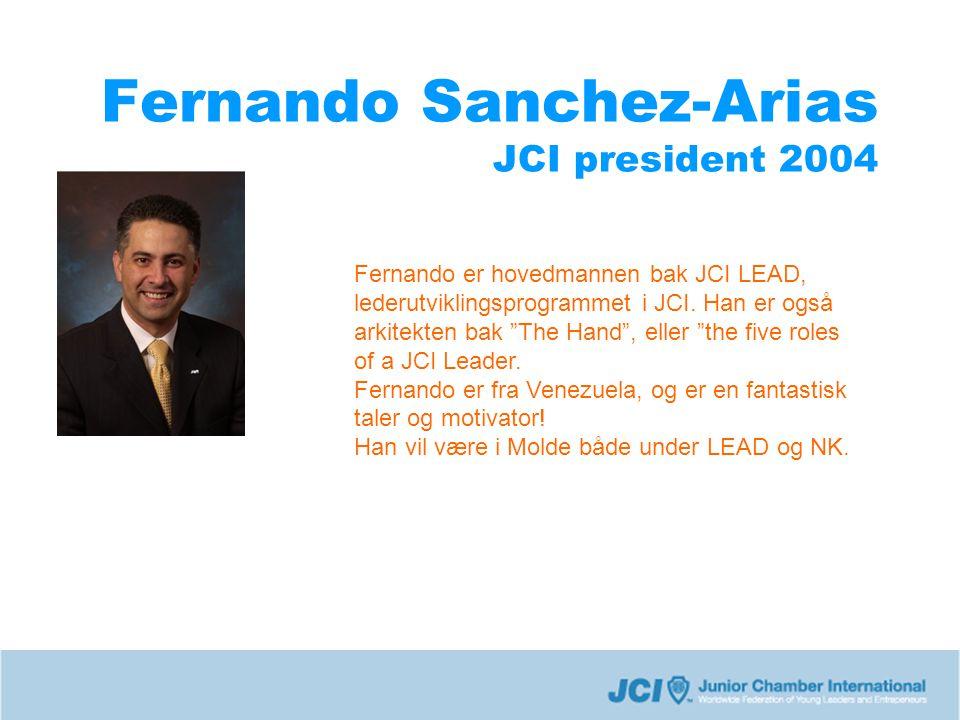 Fernando Sanchez-Arias JCI president 2004
