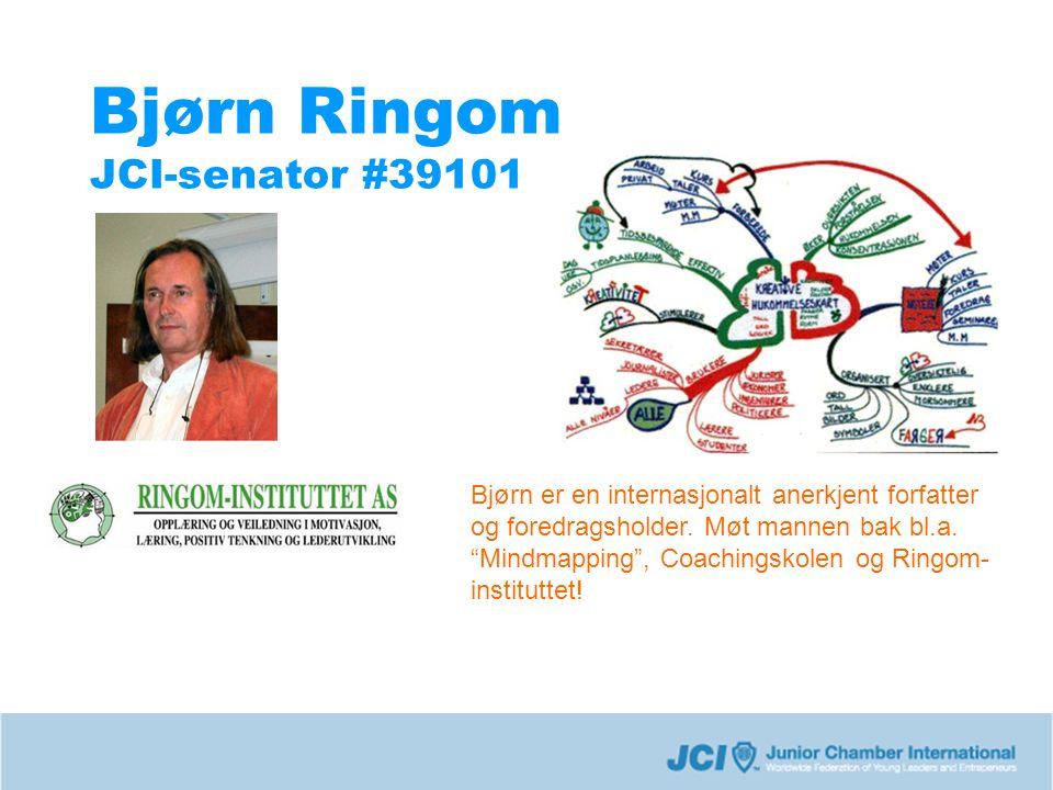 Bjørn Ringom JCI-senator #39101