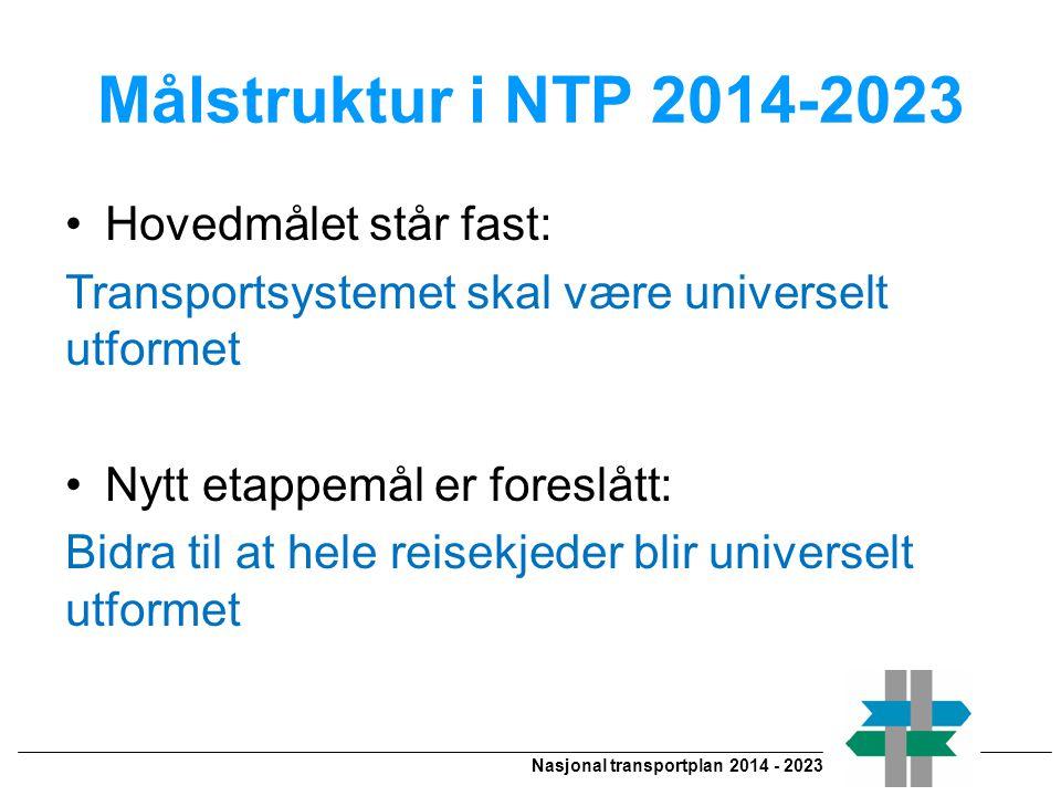 Nasjonal transportplan 2014 - 2023