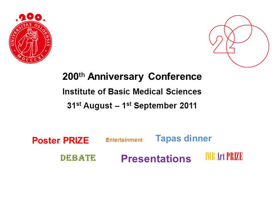 IMB Art PRIZE Presentations 200th Anniversary Conference Tapas dinner