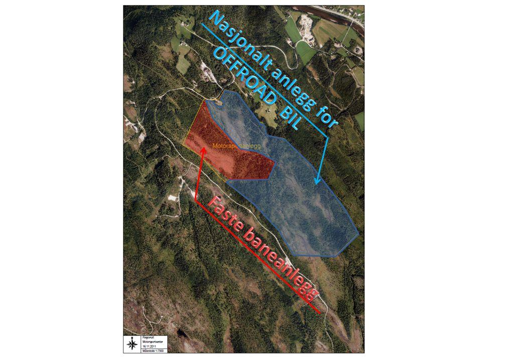 1 Nasjonalt anlegg for OFFROAD BIL Faste baneanlegg
