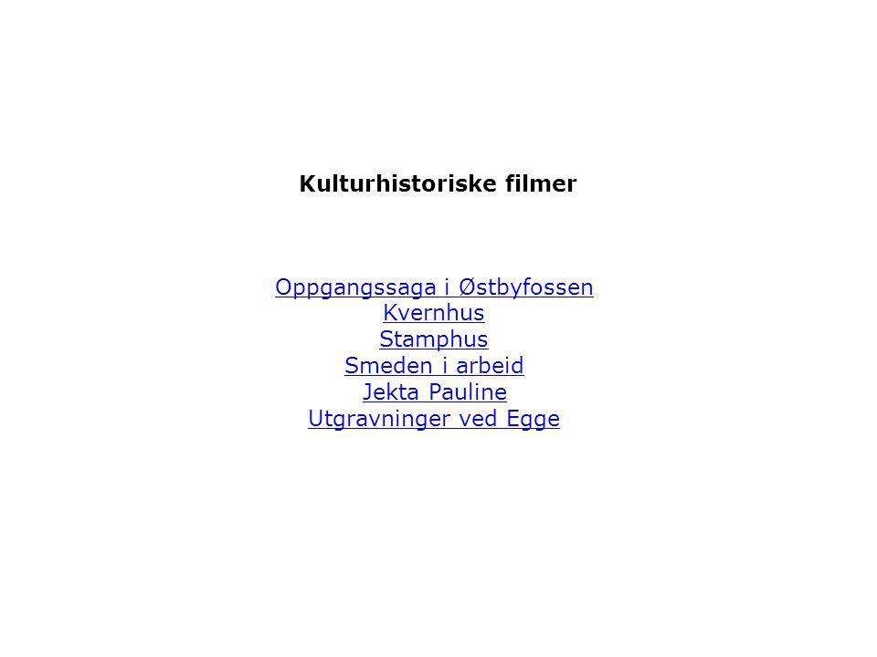 Kulturhistoriske filmer