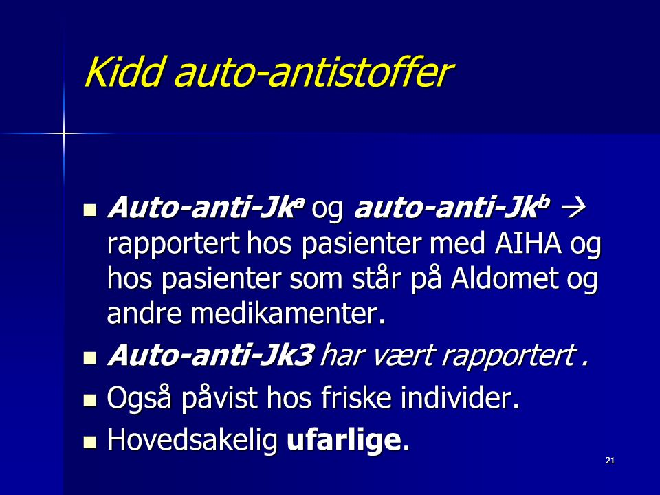Kidd auto-antistoffer