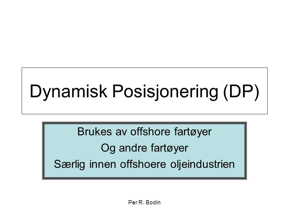 Dynamisk Posisjonering (DP)