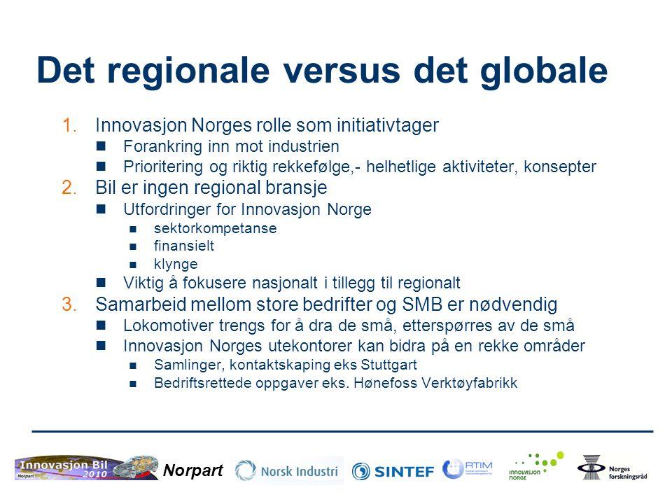 Det regionale versus det globale