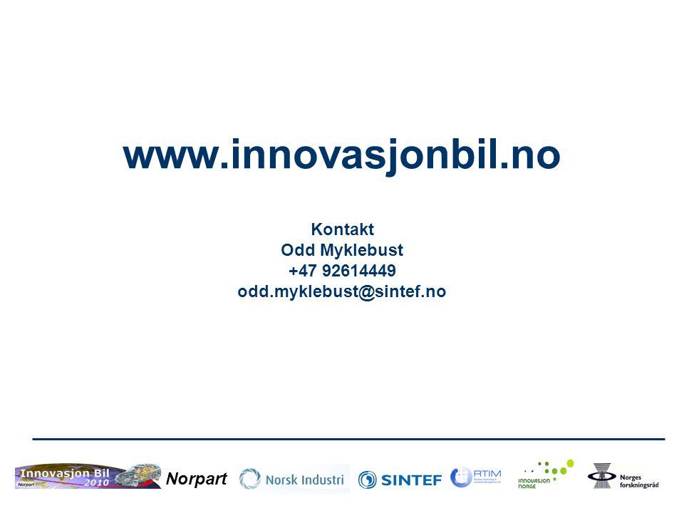 www. innovasjonbil. no Kontakt Odd Myklebust +47 92614449 odd
