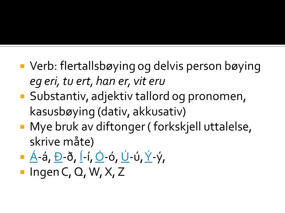 Verb: flertallsbøying og delvis person bøying
