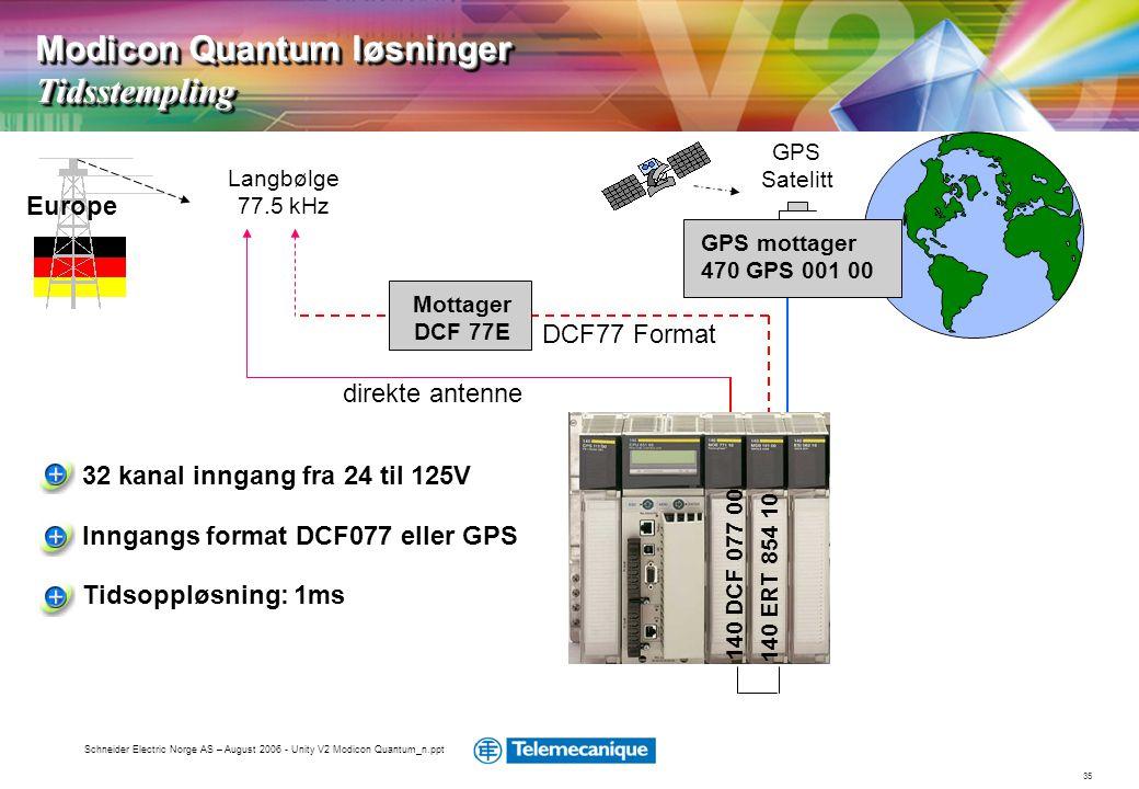 Modicon Quantum løsninger Tidsstempling