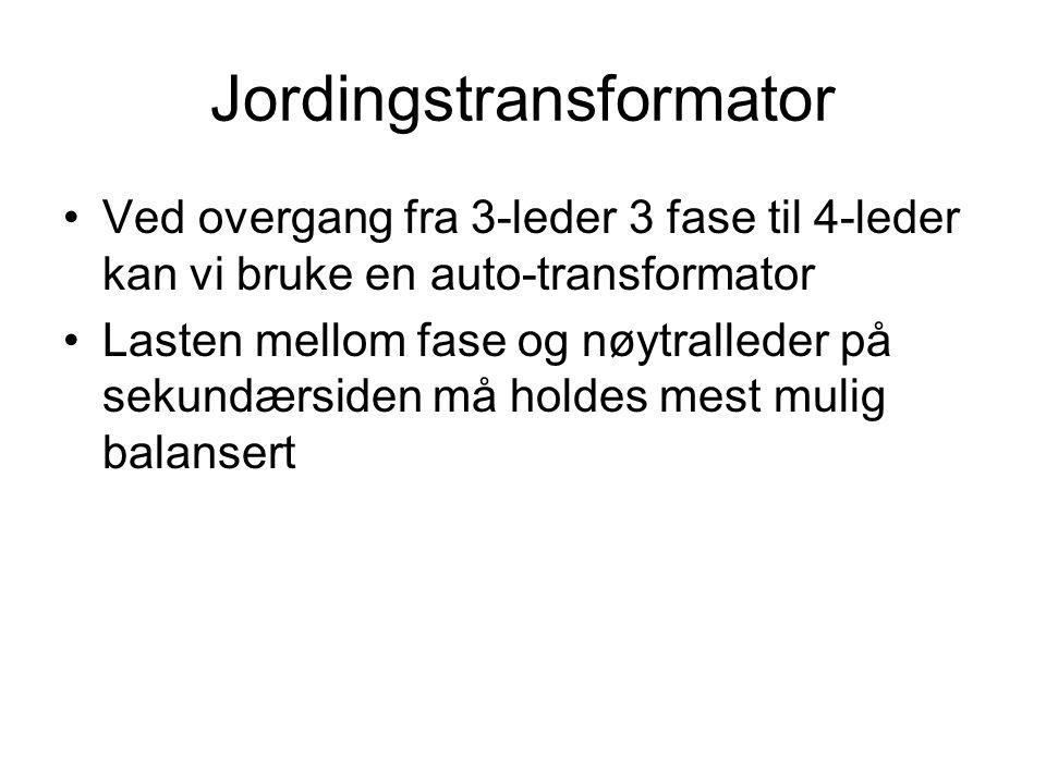 Jordingstransformator