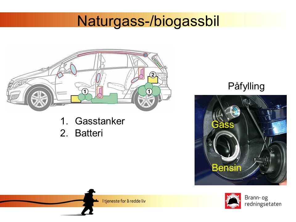 Naturgass-/biogassbil