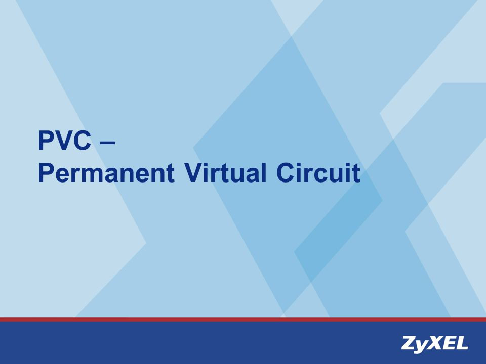 PVC – Permanent Virtual Circuit