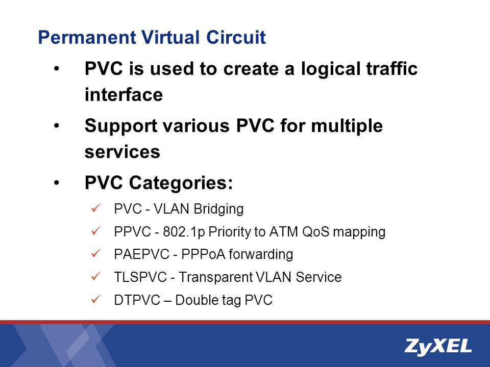 Permanent Virtual Circuit