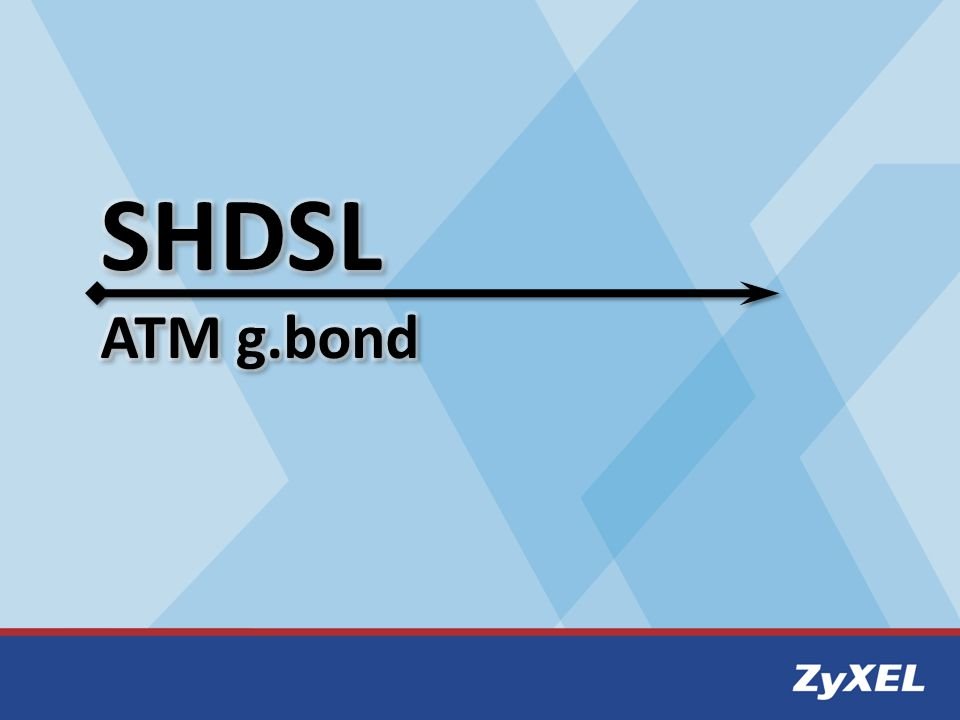 SHDSL ATM g.bond