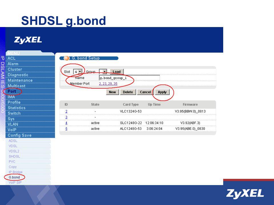 SHDSL g.bond