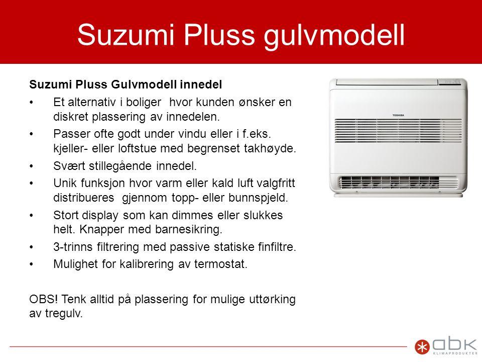 Suzumi Pluss gulvmodell