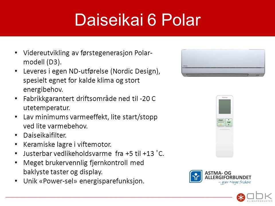 Daiseikai 6 Polar Videreutvikling av førstegenerasjon Polar-modell (D3).