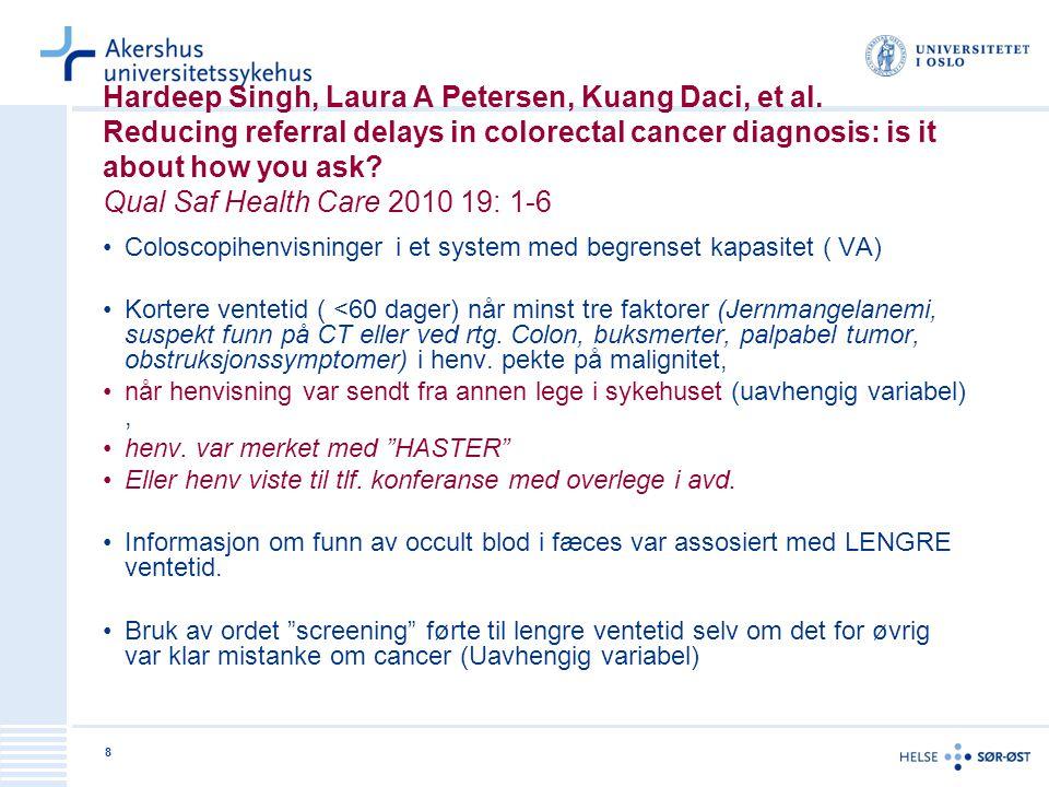 Hardeep Singh, Laura A Petersen, Kuang Daci, et al