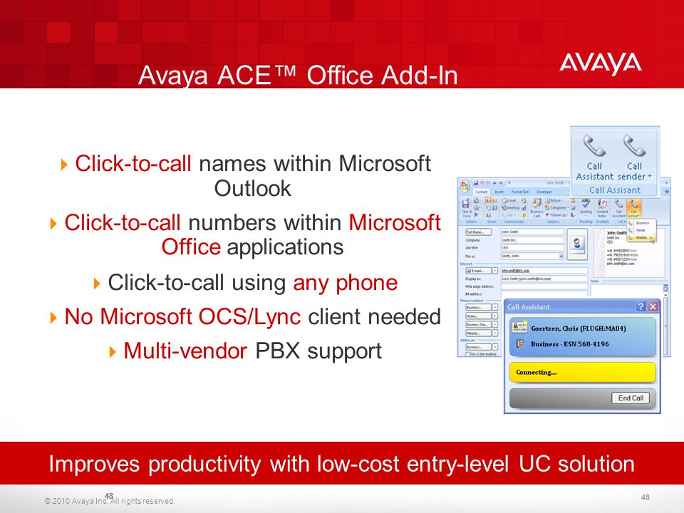Avaya Corporate Presentation Avaya Corporate Presentation