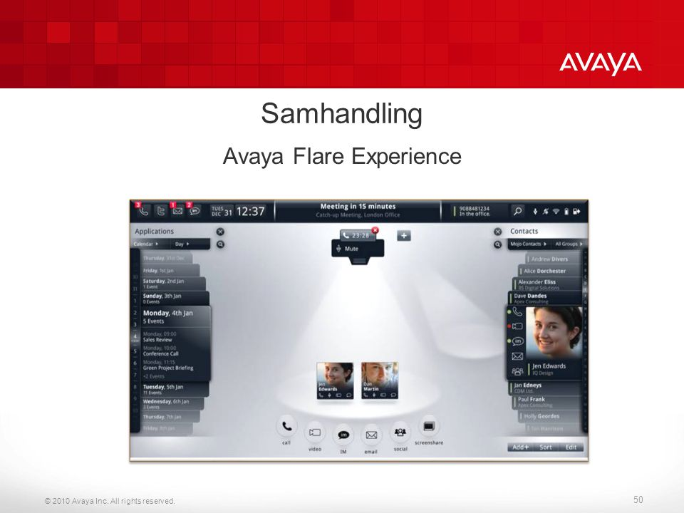 Avaya Flare Experience