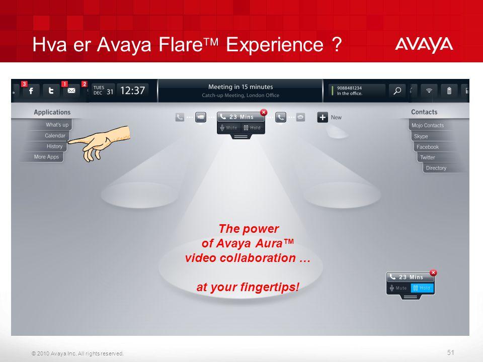 Hva er Avaya Flare Experience