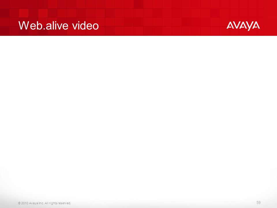 Web.alive video