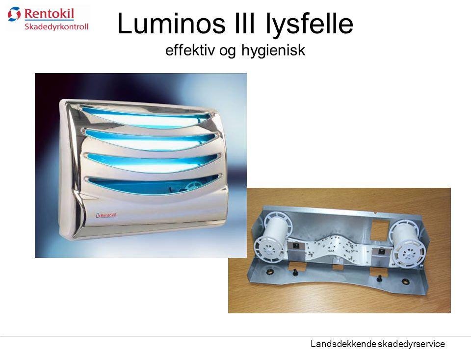 Luminos III lysfelle effektiv og hygienisk