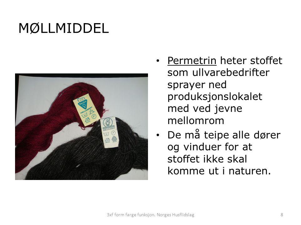 3xf form farge funksjon. Norges Husflidslag