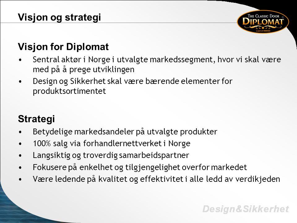 Visjon og strategi Visjon for Diplomat Strategi