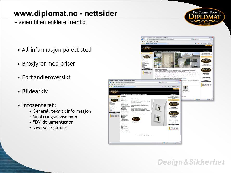 www.diplomat.no - nettsider
