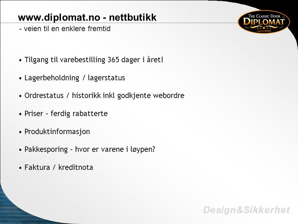 www.diplomat.no - nettbutikk