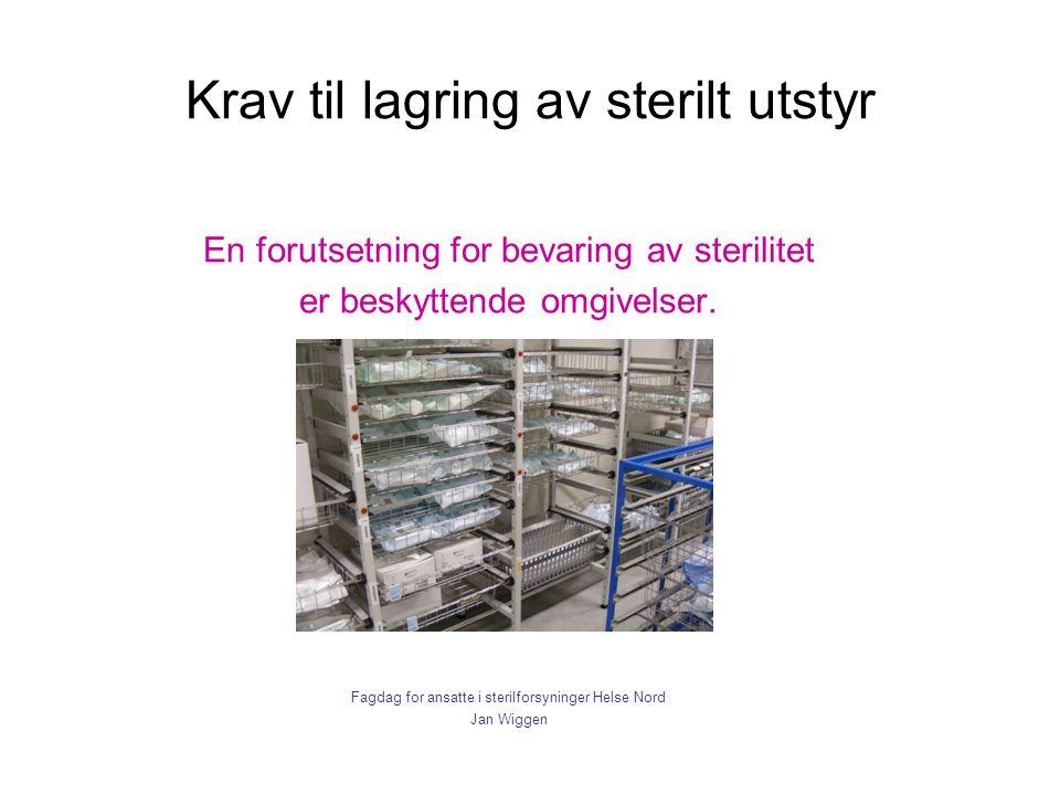 Krav til lagring av sterilt utstyr