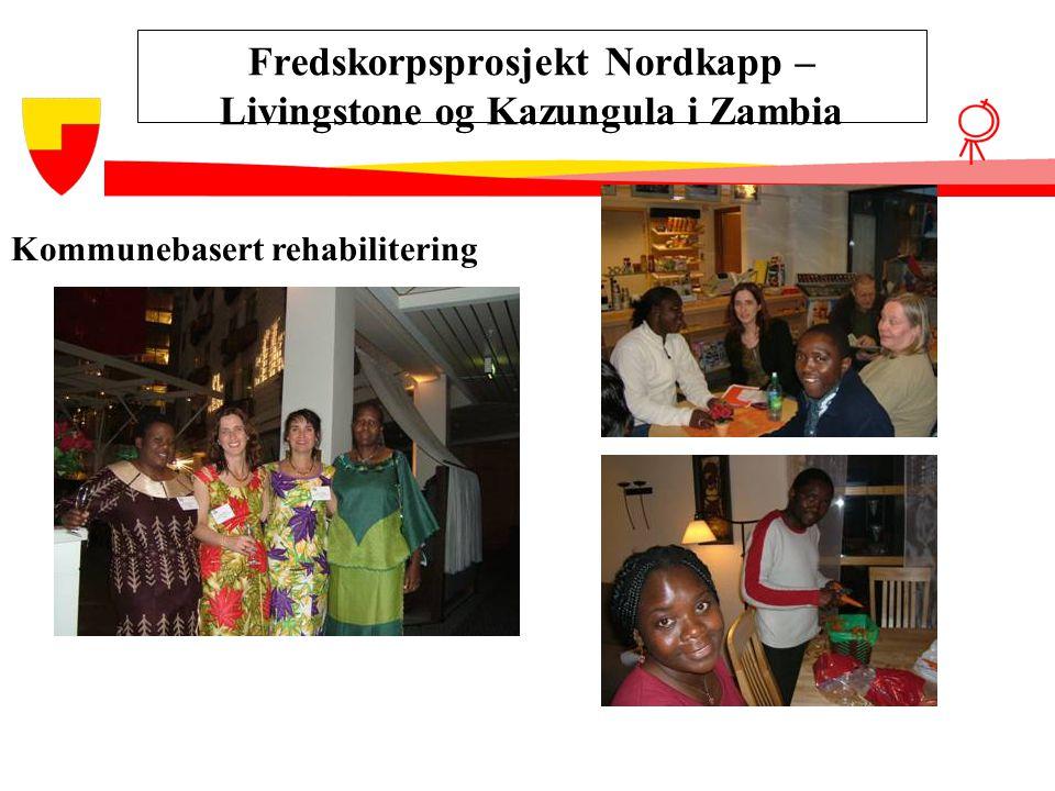 Fredskorpsprosjekt Nordkapp – Livingstone og Kazungula i Zambia