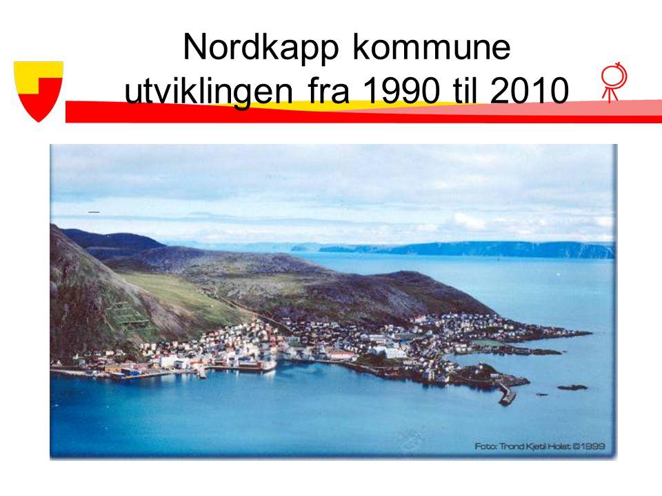 Nordkapp kommune utviklingen fra 1990 til 2010