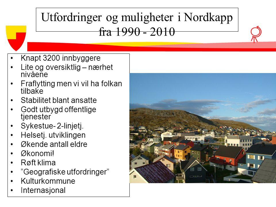 Utfordringer og muligheter i Nordkapp fra 1990 - 2010