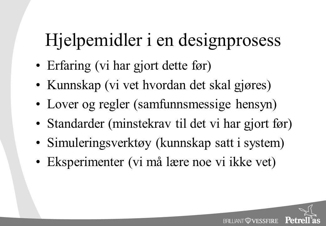 Hjelpemidler i en designprosess