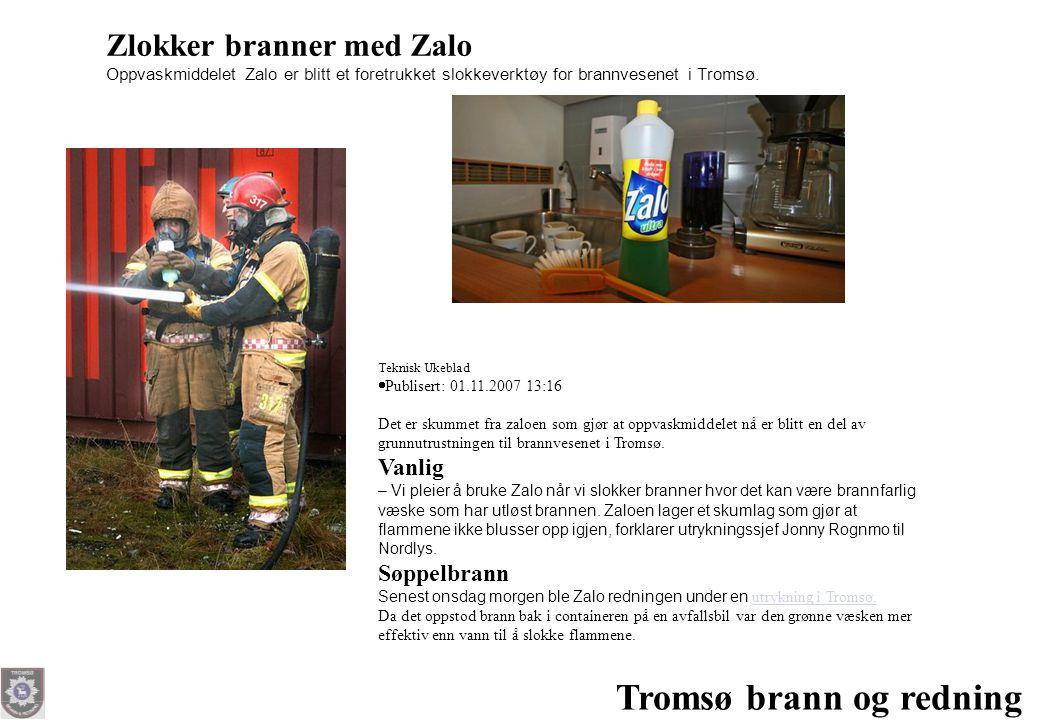 Tromsø brann og redning
