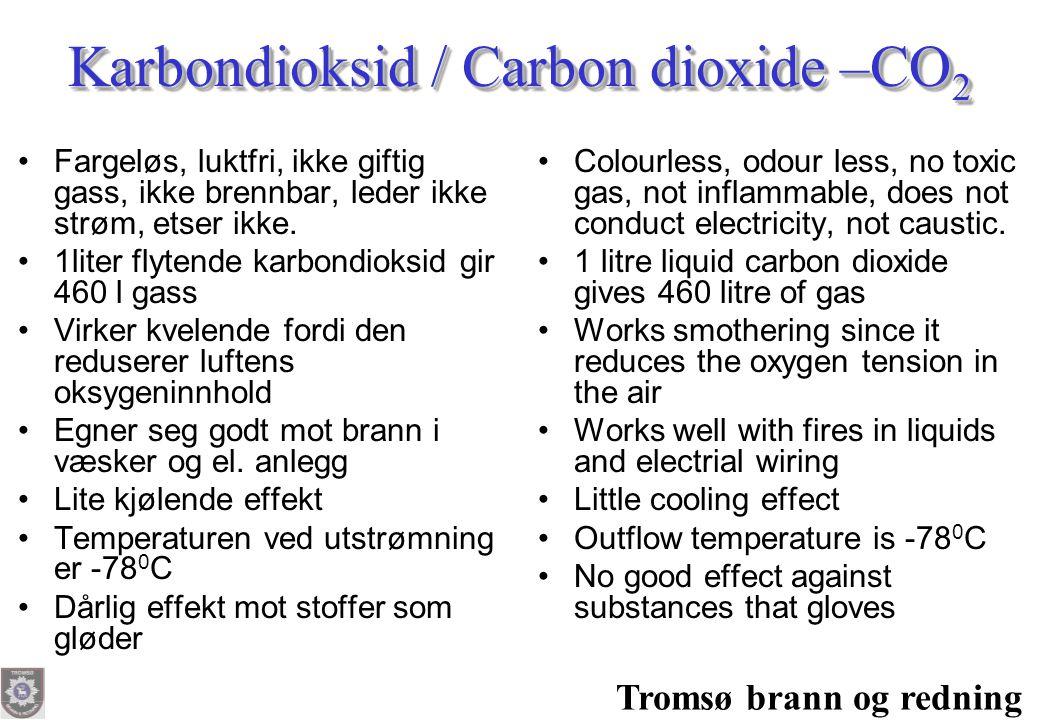 Karbondioksid / Carbon dioxide –CO2