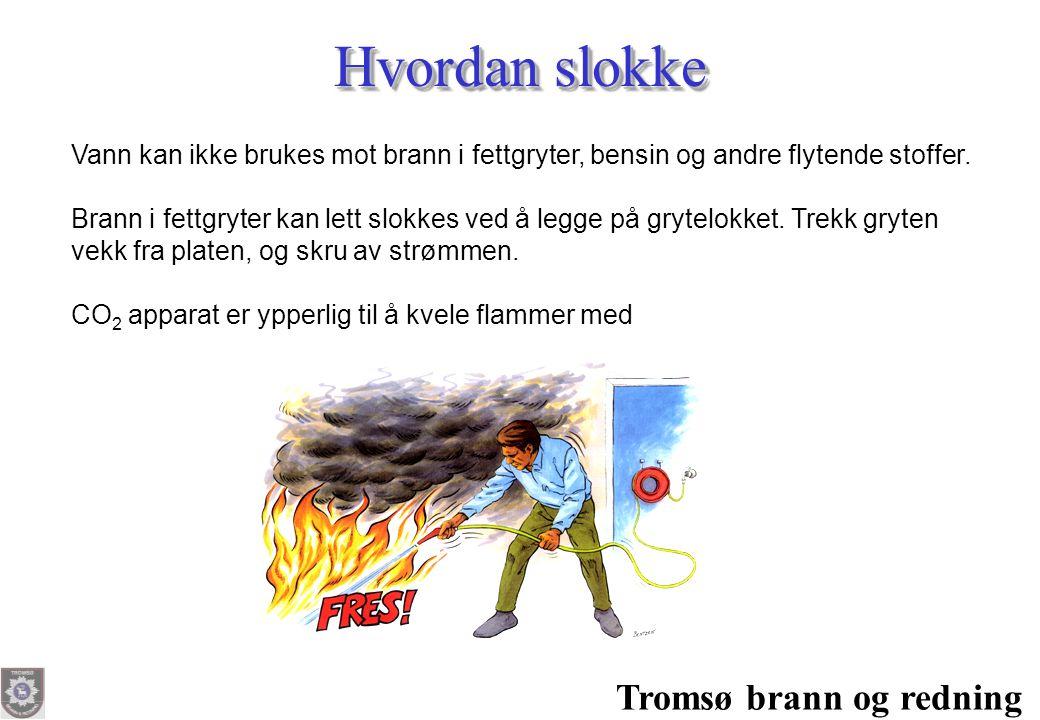 Hvordan slokke Tromsø brann og redning