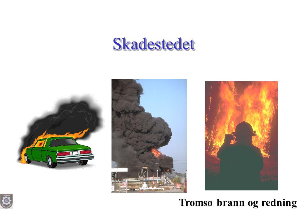 Skadestedet Tromsø brann og redning