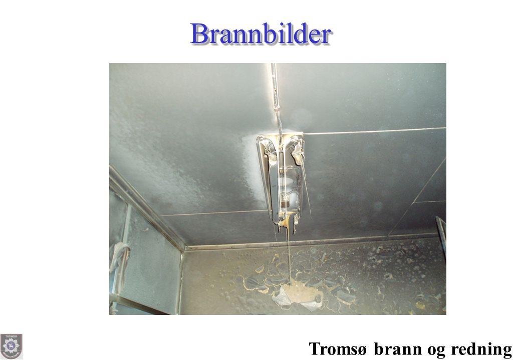 Brannbilder Tromsø brann og redning