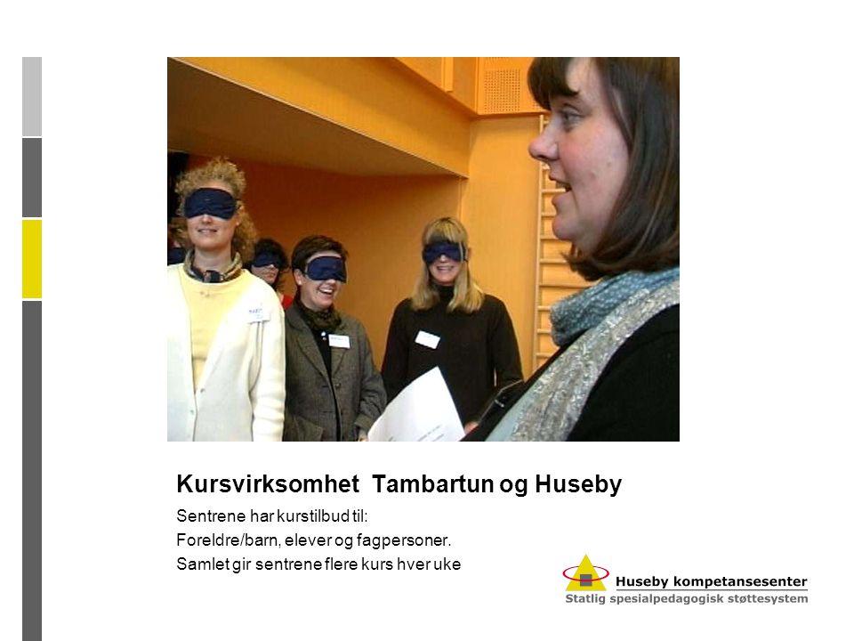 Kursvirksomhet Tambartun og Huseby