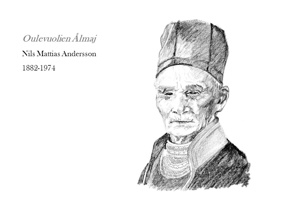 Oulevuolien Ålmaj Nils Mattias Andersson 1882-1974